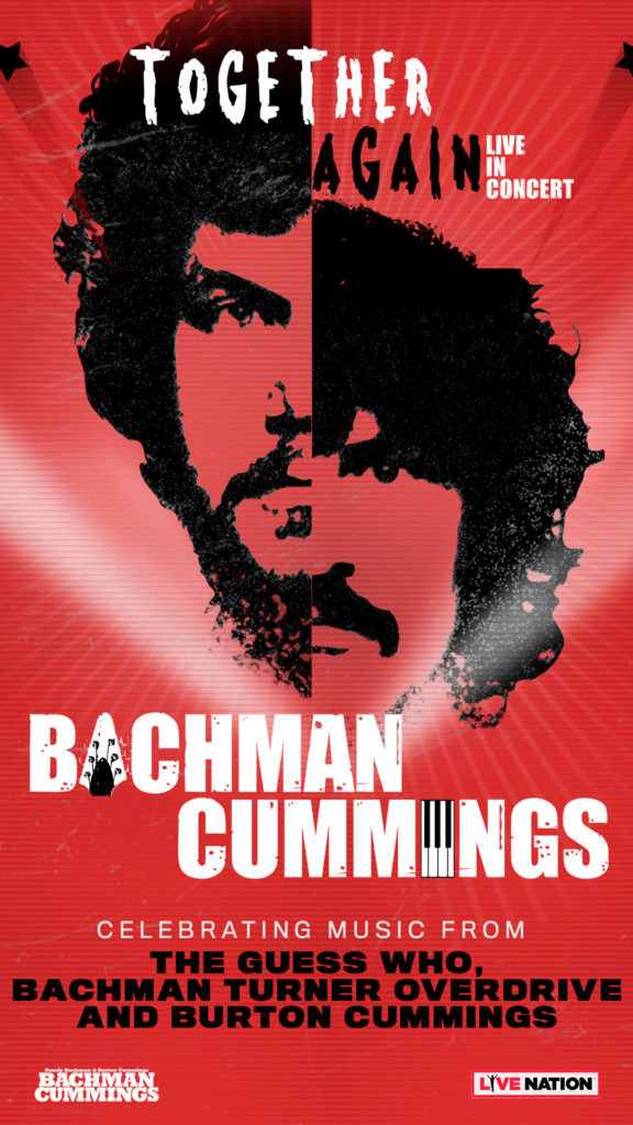 Bachman Cummings Together Again, Live In Concert Tour